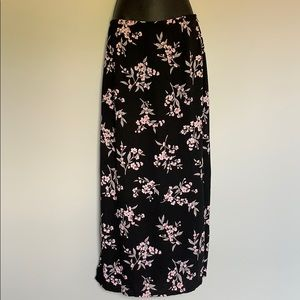 Kathie Lee Collection Floral Skirt